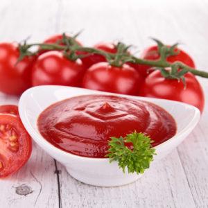 Кетчуп, томатная паста, уксус